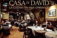 Authentisches Italienisches Restaurant Casa di David in Amsterdam Holland Niederlande